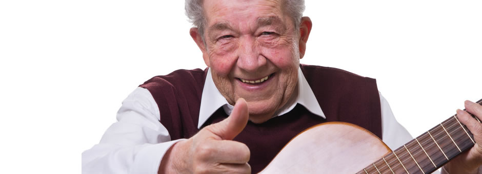 Guitar lessons for seniors, Sarasota/Bradenton.  First lesson free.